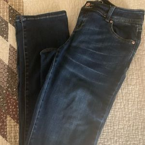 INC Straight-Leg Jeans with Tummy Control,  size 4
